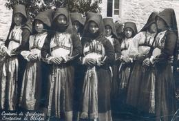 SARDEGNA - COSTUMI CONTADINE DI OLLOLAI (NUORO) - VG 1941 - Costumes