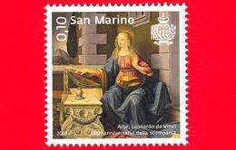 Nuovo - MNH - SAN MARINO - 2019 - Arte - 500 Anni Della Morte Di Leonardo Da Vinci - Annunciazione - 0.10 - Nuovi