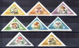Polonia Serie Completa N ºYvert 959/66 ** SETAS (MUSHROOM) Valores Nº 965/66 Pequeñas Manchas - 1944-.... República