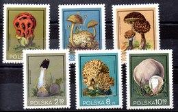 Polonia Serie Completa N ºYvert 2510/15 ** SETAS (MUSHROOM - Nuevos