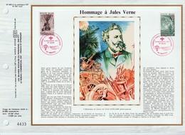 C E F               N° 660 S                  - HOMMAGE A JULES VERNE  -         1er Jour 20 /11/ 1982 - - Francia