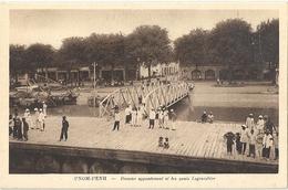 CPA Cambodge Pnom-Penh Premier Appontement Et Les Quais Lagrandière - Cambodge