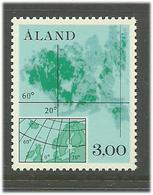 Aland Åland 1984 Map Over Åland Islands.  Mi  5, MNH(**) - Ålandinseln