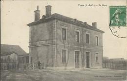 Pezou   La Gare - France