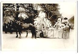 """DIGNE - CARTE PHOTO - CORSO DU 19 MARS 1922  """"LES PESCADOUS"""" - - Digne"""