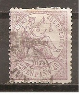 España/Spain-(usado) - Edifil  148 - Yvert 146 (o) (defectuoso) - 1873-74 Regentschaft