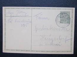 GANZSACHE Bahnpost Zugstempel Dolni Lipova - Javornik 1928 //// D*42077 - Tschechoslowakei/CSSR