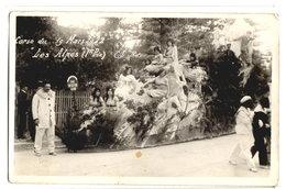 """DIGNE - CARTE PHOTO - CORSO DU 19 MARS 1922  """"LES ALPES"""" - - Digne"""