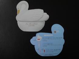 PETITE CARTE GLACEE LA DUREE JAPONAISE - Cartes Parfumées