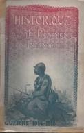 HISTORIQUE 51 REGIMENT INFANTERIE GUERRE 1914 1918 BEAUVAIS OISE - 1914-18