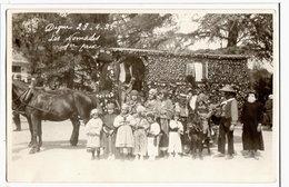 DIGNE - CARTE PHOTO - CORSO DU 29-4-1924 -  LES NOMADES - 1ER PRIX - Digne