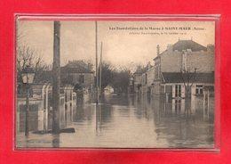 94-CPA SAINT MAUR DES FOSSES - INONDATIONS DE JANVIER 1910 - Saint Maur Des Fosses