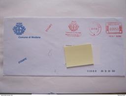 RS11 ITALIA EMA AFFR. MECCANICA METER COMUNE CITY 2000 MODENA MEDAGLIA ORO RESISTENZA 2^ GUERRA MONDIALE 2ND WAR WORLD - Seconda Guerra Mondiale