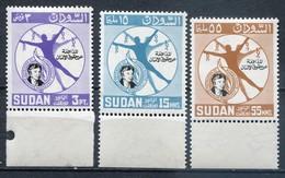 Sudan Mi# 203-5 Postfrisch MNH - Human Rights - Sudan (1954-...)