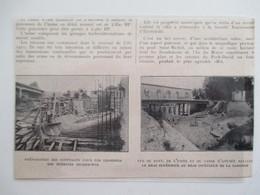Année(1924)  TOULOUSE BAZACLE Quai Saint Pierre  (31) Construction Usine D'électricité - Ancienne Coupure De Presse - Historical Documents