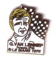 L89 Pin's LE MANS 76 Vainqueur G VAN LENNEP J ICKX Signé EMC PORSCHE 936 Qualité EGF Achat Immédiat Immédiat - Porsche