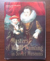 MASTERS OF WORLD PAINTING IN SOVIET MUSEUMS. Set Of 16 Postcards In Folder. USSR, 1981 - Paintings