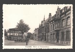 Kruibeke / Cruybeke - Markt En Gemeentehuis - Kruibeke