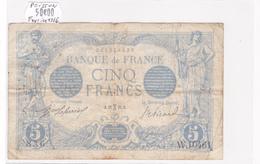 Billet De 5 Francs Bleu Du 22/02/1916 Poisson - W.10461 Alph 836 @ N° Fayette : 2.36 - 1871-1952 Circulated During XXth