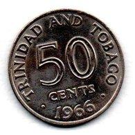 Trinidad Et Tobago / KM 5 / 50 Cents 1966 / SUP - Trinité & Tobago