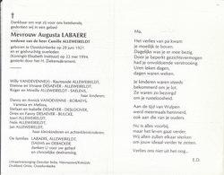 Augusta Labaere (1921-1994) - Images Religieuses