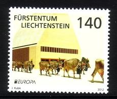 LIECHTENSTEIN MI-NR. 1624 POSTFRISCH(MINT) EUROPA 2012 - ALMABTRIEB - Europa-CEPT