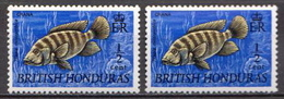 British Honduras MNH Stamps - Fishes