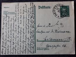 DR 1928, Postkarte HEIDENHEIM - Germany