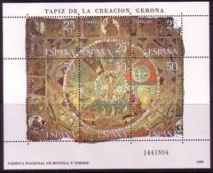 SPANIEN BLOCK 22 POSTFRISCH(MINT) WANDTEPPICH KATHEDRALE VON GERONA 1980 - Blocs & Feuillets