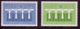 NIEDERLANDE MI-NR. 1251-1252 C POSTFRISCH(MINT) EUROPA 1984 - BRÜCKE ROLLENMARKENSATZ - Europa-CEPT