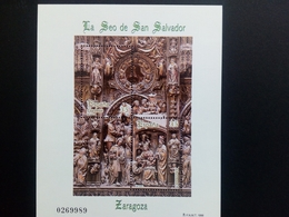 SPANIEN BLOCK 73 POSTFRISCH KATHEDRALE SAN SALVADOR 1998 - Blocs & Feuillets