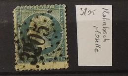 02 - 20 // France N° 22 Oblitération GC 3205 - Rohrbach - Moselle - Storia Postale (Francobolli Sciolti)