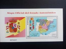 SPANIEN BLOCK 67 POSTFRISCH(MINT) AUTONOME REGIONEN 1996 WAPPEN FLAGGE LANDKARTE - Blocs & Feuillets
