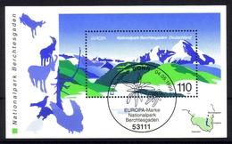 DEUTSCHLAND BLOCK 47 GESTEMPELT(USED) EUROPA 1999 - NATUR- Und NATIONALPARKS STEMPEL BONN - Europa-CEPT