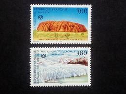 FRANKREICH UNESCO MI-NR. 47-48 POSTFRISCH(MINT) UNESCO WELTERBE 1996 AYERS ROCK - Frankreich