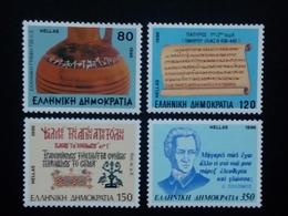 GRIECHENLAND MI-NR. 1929-1932 POSTFRISCH(MINT) DIE GRIECHISCHE SPRACHE 1996 - Neufs