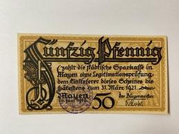 Allemagne Notgeld Mayen 50 Pfennig - 1918-1933: Weimarer Republik