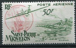Saint Pierre Et Miquelon  TB Série N° YVERT PA 18 Neuf ** - Unused Stamps