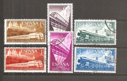 España/Spain-(usado) - Edifil  1232-37 - Yvert  921-26 (o) - 1931-Hoy: 2ª República - ... Juan Carlos I