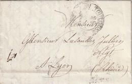 Frankreich / 1832 / Vorphila-Brief K2 TOULOUSE (AC39) - Poststempel (Briefe)