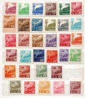 Francobolli Cina (nuovi) 1950 - 33 Valori - 1949 - ... República Popular