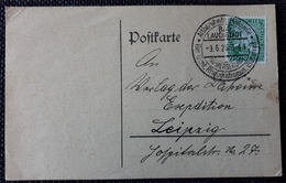 DR 1927, Postkarte SST, BAD LAUCHSTÄDT - Germany