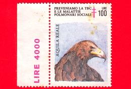 ITALIA - Usato - Preveniamo La TBC E Le Malattie Polmonari - Aquila Reale - 100 L - Malattie