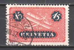 Switzerland 1923 Mi 183x Canceled (2) - Poste Aérienne