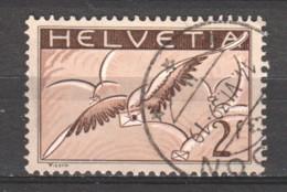 Switzerland 1935 Mi 245z Canceled (1) - Poste Aérienne