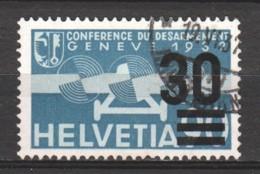 Switzerland 1936 Mi 292 Canceled (1) - Poste Aérienne