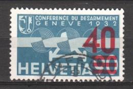 Switzerland 1936 Mi 293C Canceled - Poste Aérienne