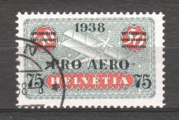 Switzerland 1938 Mi 325 Canceled (3) - Airmail