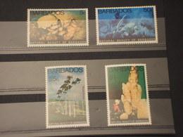 BARBADOS - NATURA L. 4 VALORI - NUOVI(++) - Barbados (1966-...)