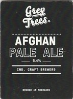 GREY TREES BREWERY (ABERDARE, WALES) - WELSH PALE - PUMP CLIP FRONT - Letreros